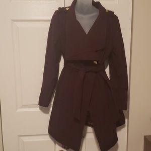 Maroon Guess winter/fall coat